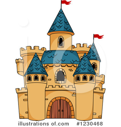 Fortress Clipart #1230468 by Vector Tradition SM