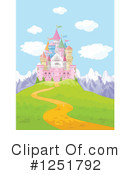 Royalty-Free (RF) Castle Clipart Illustration #1251792