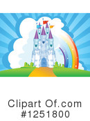 Royalty-Free (RF) Castle Clipart Illustration #1251800