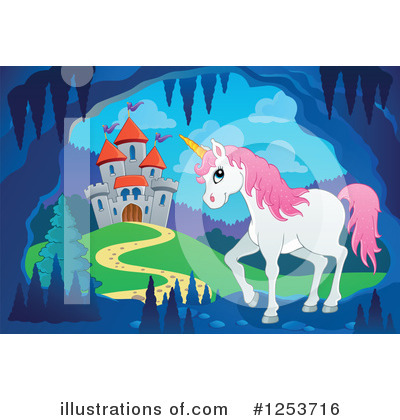 Unicorn Clipart #1253716 by visekart