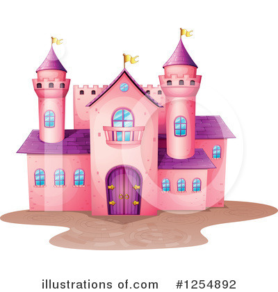 Castle Clipart #1254892 by Graphics RF