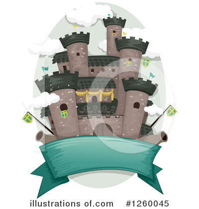 Fortress Clipart #1260045 by BNP Design Studio