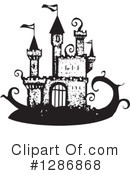 Royalty-Free (RF) Castle Clipart Illustration #1286868