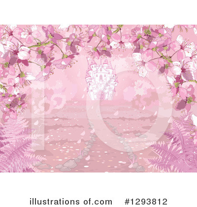 Cherry Blossoms Clipart #1293812 by Pushkin