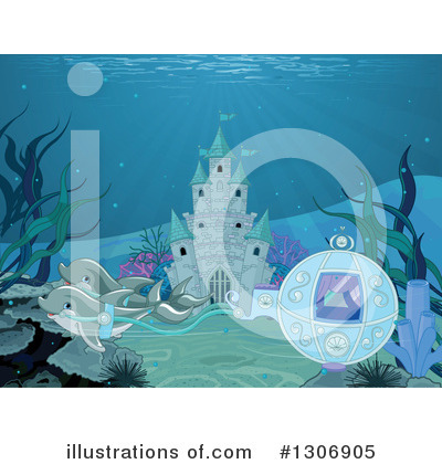Mermaid Clipart #1306905 by Pushkin