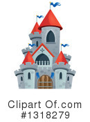 Royalty-Free (RF) Castle Clipart Illustration #1318279