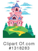 Royalty-Free (RF) Castle Clipart Illustration #1318283
