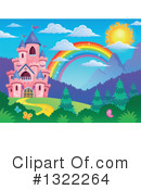 Royalty-Free (RF) Castle Clipart Illustration #1322264