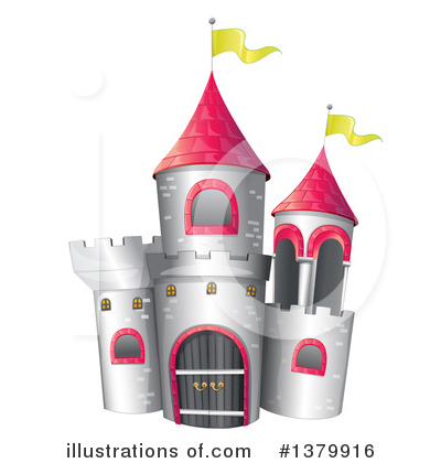 Fortress Clipart #1379916 by Graphics RF