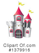 Royalty-Free (RF) Castle Clipart Illustration #1379916