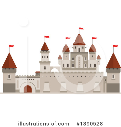 Fortress Clipart #1390528 by Vector Tradition SM