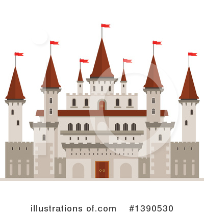 Fortress Clipart #1390530 by Vector Tradition SM