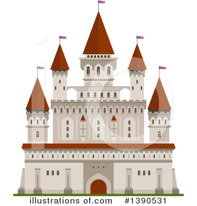 Fortress Clipart #1390531 by Vector Tradition SM