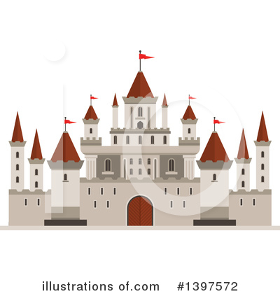 Fortress Clipart #1397572 by Vector Tradition SM