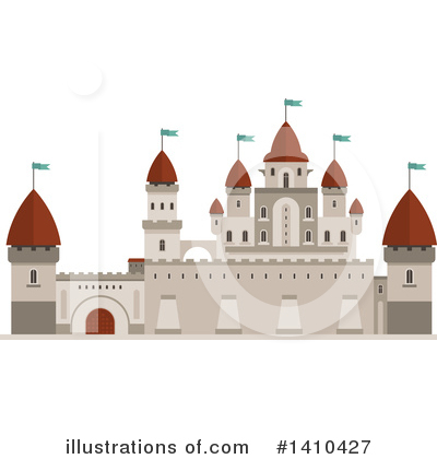 Fortress Clipart #1410427 by Vector Tradition SM