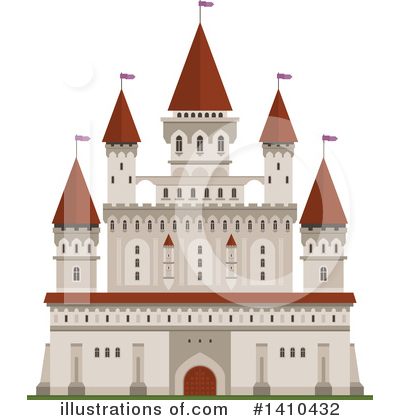 Fortress Clipart #1410432 by Vector Tradition SM