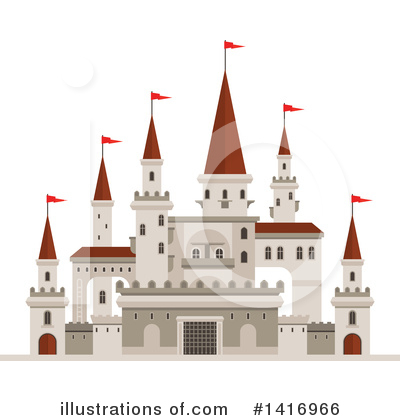 Fortress Clipart #1416966 by Vector Tradition SM