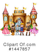 Royalty-Free (RF) Castle Clipart Illustration #1447857