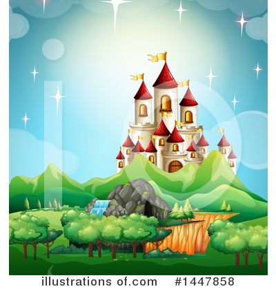 Castle Clipart #1447858 by Graphics RF