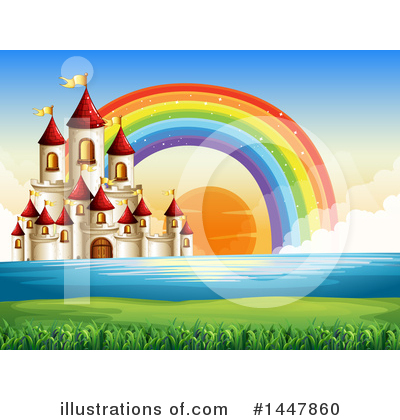 Castle Clipart #1447860 by Graphics RF