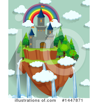 Castle Clipart #1447871 by Graphics RF