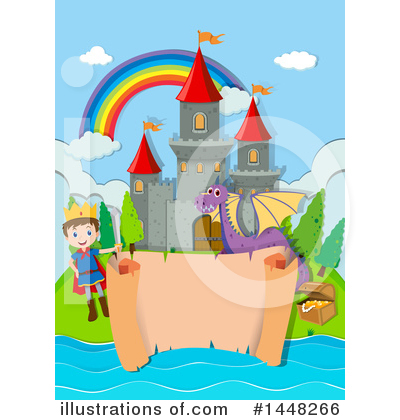 Castle Clipart #1448266 by Graphics RF