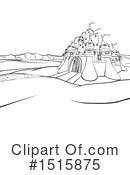 Castle Clipart #1515875 by AtStockIllustration