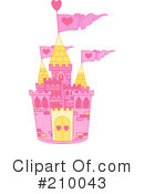 Royalty-Free (RF) castle Clipart Illustration #210043