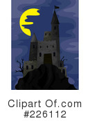 Royalty-Free (RF) castle Clipart Illustration #226112
