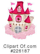 Royalty-Free (RF) castle Clipart Illustration #226187