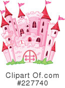Royalty-Free (RF) castle Clipart Illustration #227740