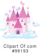 Royalty-Free (RF) castle Clipart Illustration #96193