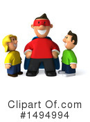 Casual Man Clipart #1494994 by Julos