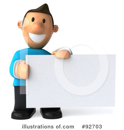 Royalty-Free (RF) Casual Man Clipart Illustration by Julos - Stock Sample #92703