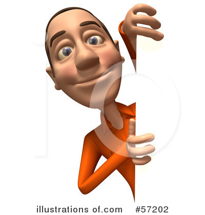 Casual White Man Character Clipart #57202 by Julos