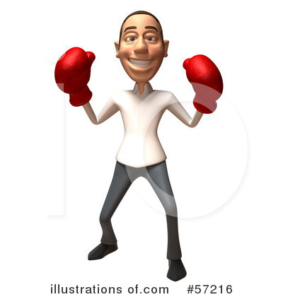 Casual White Man Character Clipart #57216 by Julos