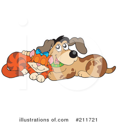 Dog And Cat Clipart #211721 by visekart