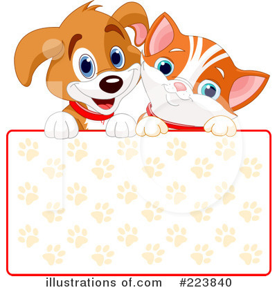 Cat And Dog Clipart #223840 by Pushkin