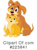 Cat And Dog Clipart #223841 by Pushkin