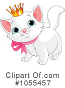 Royalty-Free (RF) Cat Clipart Illustration #1055457