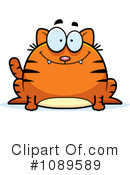 Royalty-Free (RF) Cat Clipart Illustration #1089589