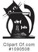 Royalty-Free (RF) Cat Clipart Illustration #1090508
