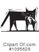 Royalty-Free (RF) Cat Clipart Illustration #1095629
