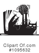 Royalty-Free (RF) Cat Clipart Illustration #1095632