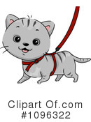 Royalty-Free (RF) Cat Clipart Illustration #1096322