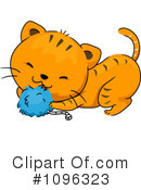 Royalty-Free (RF) Cat Clipart Illustration #1096323