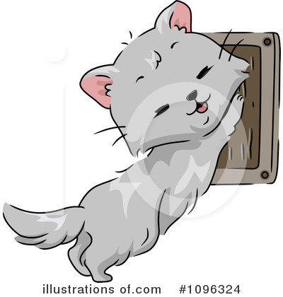 Cat Clipart #1096324 by BNP Design Studio