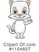 Royalty-Free (RF) Cat Clipart Illustration #1104837
