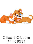 Royalty-Free (RF) Cat Clipart Illustration #1108531