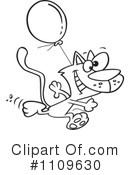 Cat Clipart #1109630 by toonaday